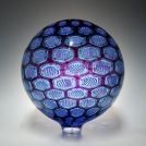 Hyacinth/Teal Sphere