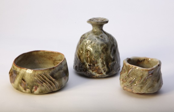 Tea bowl set 2