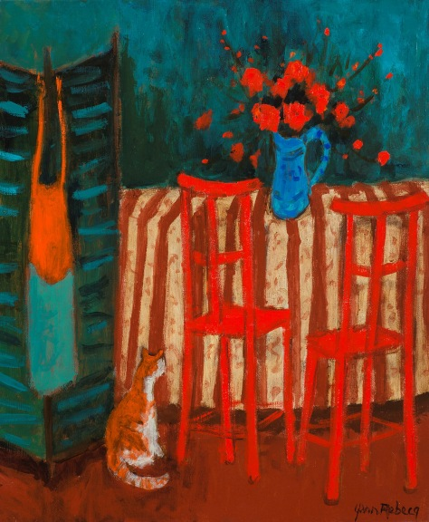 The Little Cat and the Red Chairs
